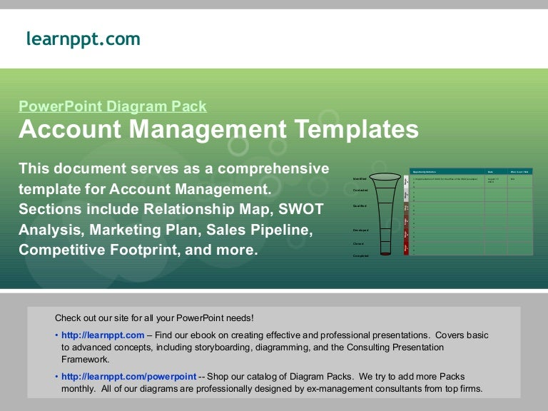 Account Management Template