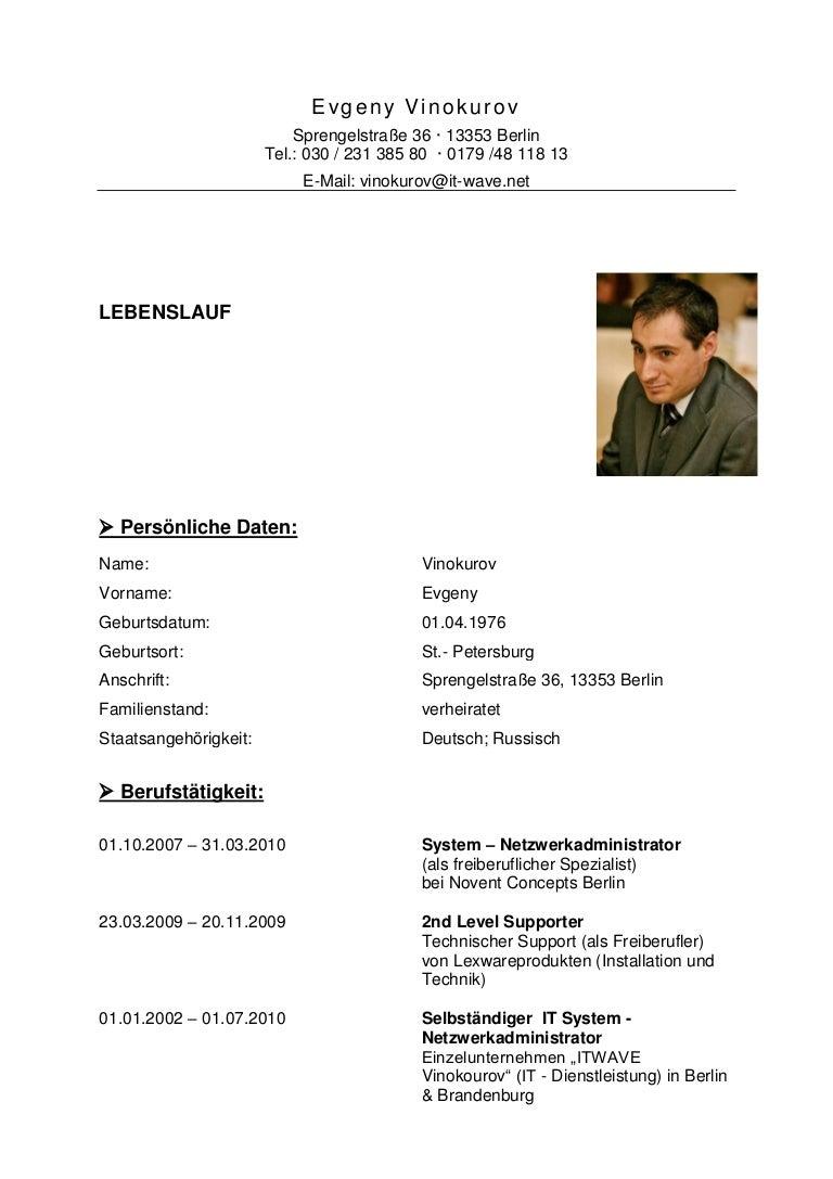 lebenslauf 13005349735431 phpapp02 thumbnail 4jpgcb1300517234 - Lebenslauf Deutsch