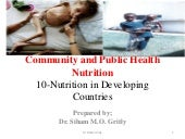 Lec 9 nutrition in developing countries
