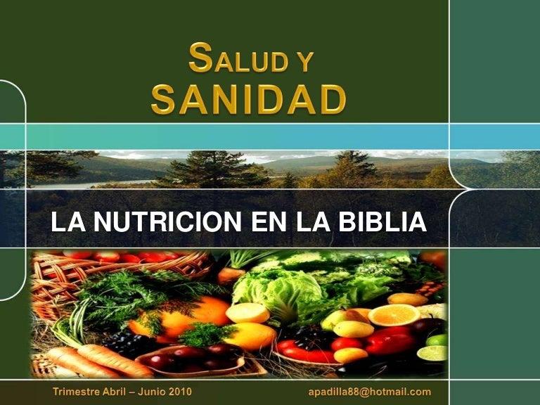 todo sobre la nutricion y salud