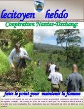 Le citoyen hebdo n°0004(coopération Nantes-Dschang)