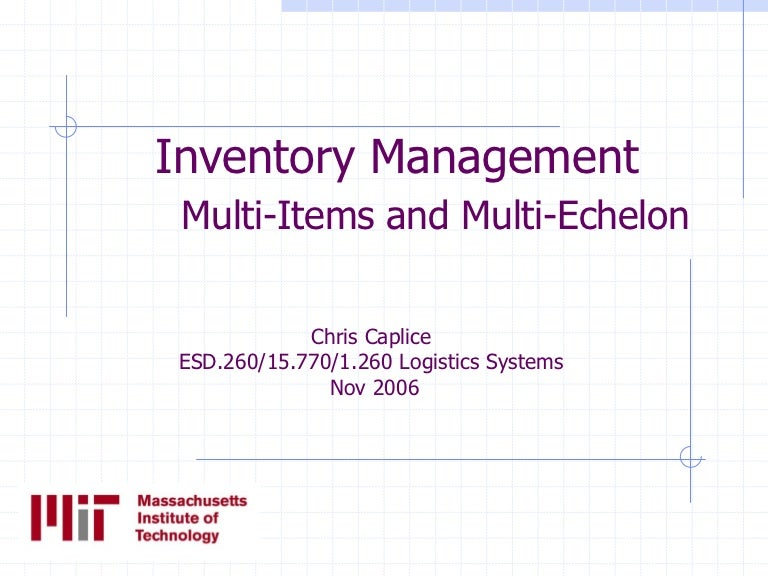 coordinated multi item inventory system - 768×576