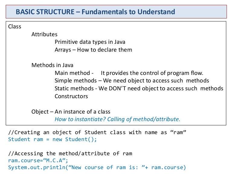 java: basics, user input, data type, constructor