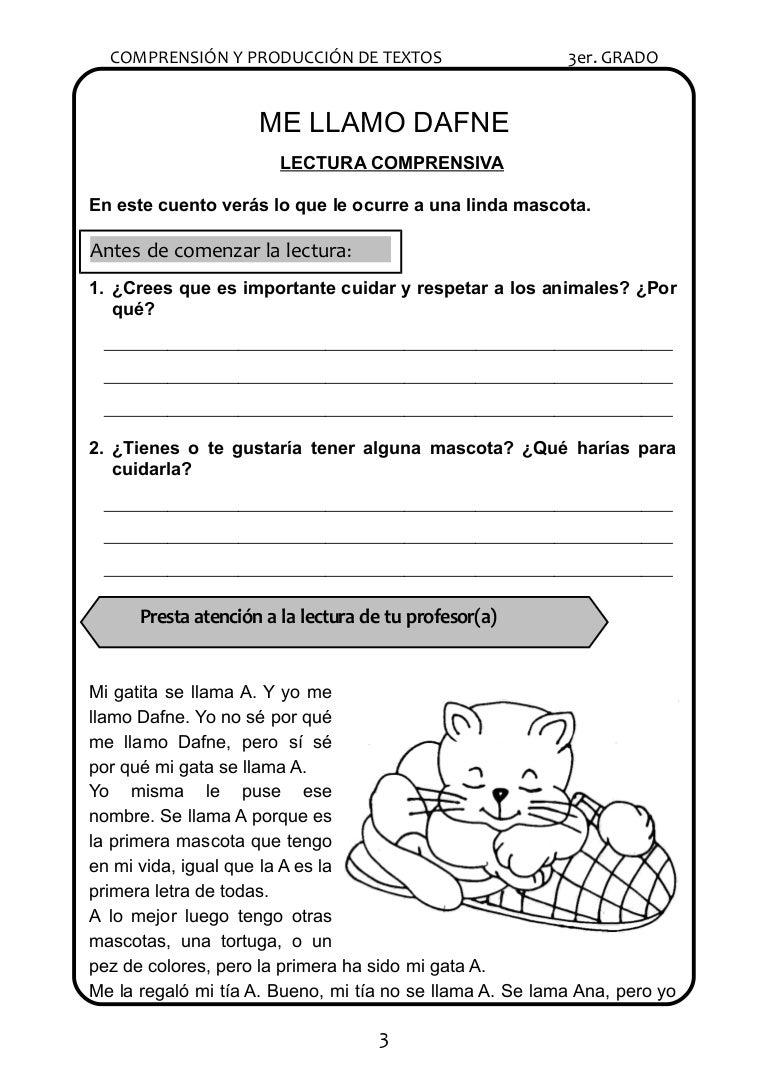 lecturas para el tercer grado de primaria
