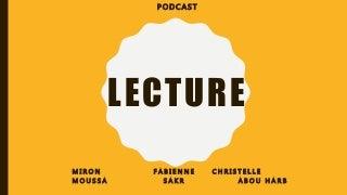 Podcast - Lire en s'amusant