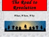 US HIST - Road to Revolution