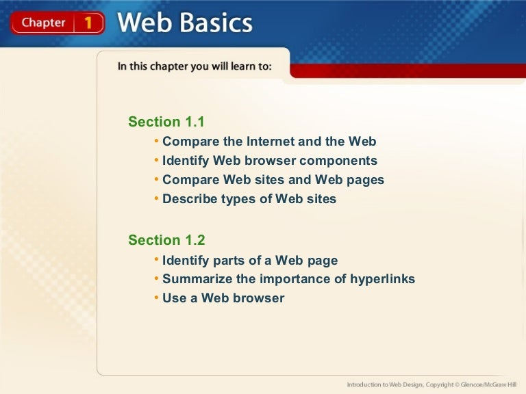 Lecture 1 Intro To Web Designing