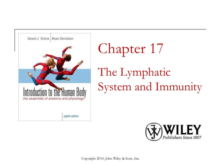 Lecture 11 The Lymphatic System And Immunity