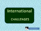 HRM International Challenges by Mahmood Qasim