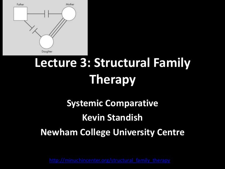 structural couple therapy Lecture 3 structural family therapy