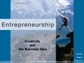 Creativity  and  the Business Idea