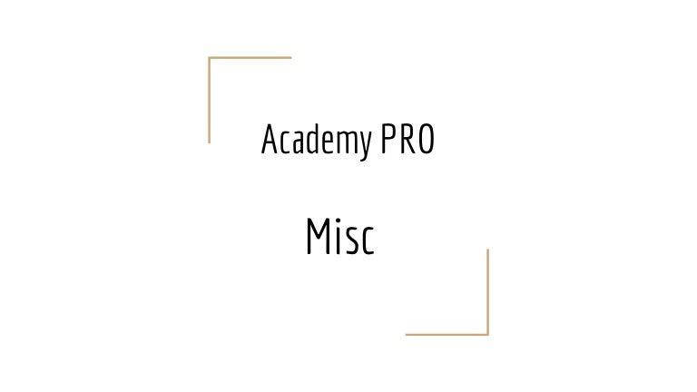 Academy PRO: Node js - miscellaneous  Lecture 5