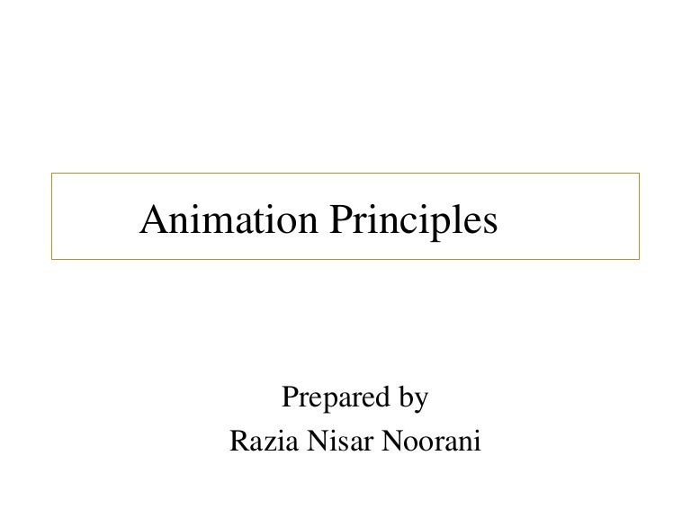 general computer animation functions pdf
