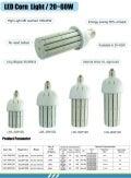 Led corn light Series specification