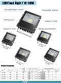 Led flood light Series Specification