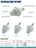 LED Garden Light Series Specification