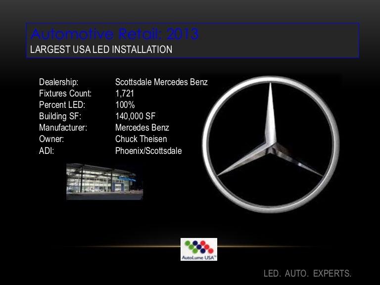Mercedes Benz Scottsdale >> Led Lighting Mercedes Benz Scottsdale Usa