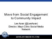 Move from Social Engagement to Community Impact