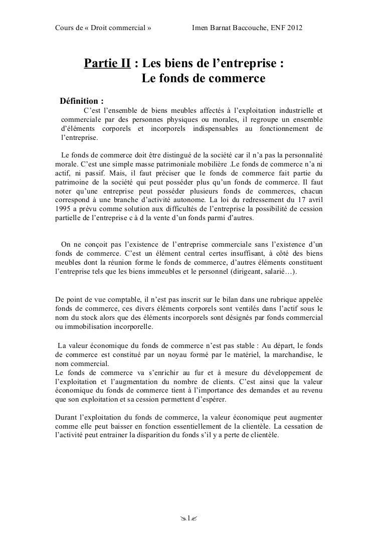 Epub Modele Lettre Opposition Vente Fonds Commerce