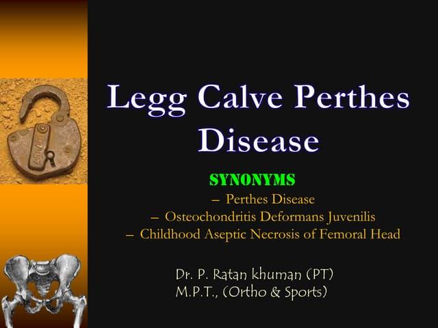 Legg calve perthes disease