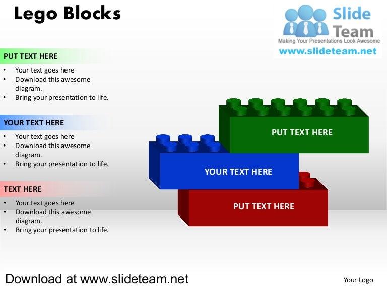 Building Blocks Powerpoint Slide
