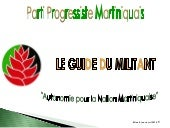 Le guide du militant progressiste