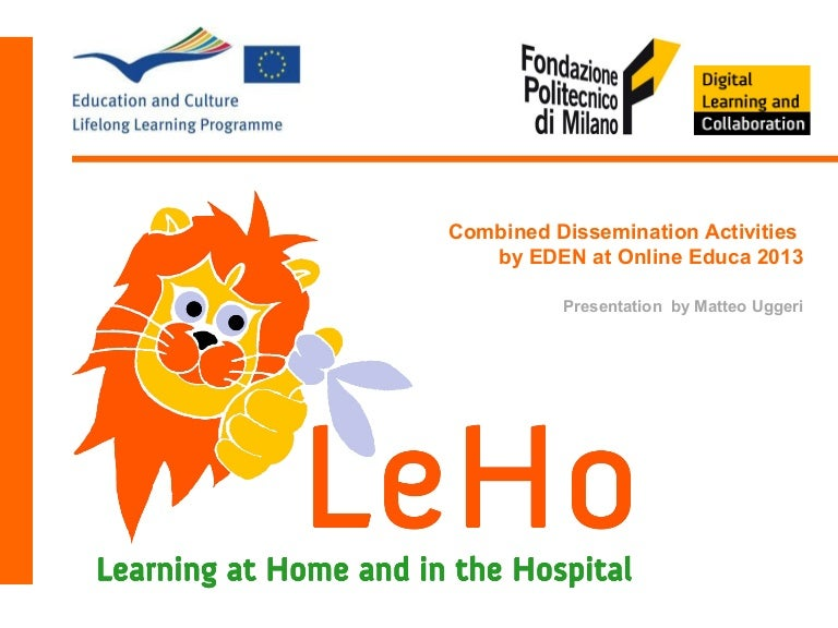 Learning at Home and at the Hospital - LeHo project explained