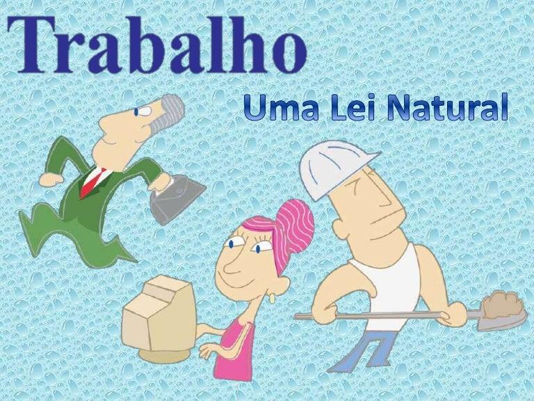 Resultado de imagem para LEI DO TRABALHO