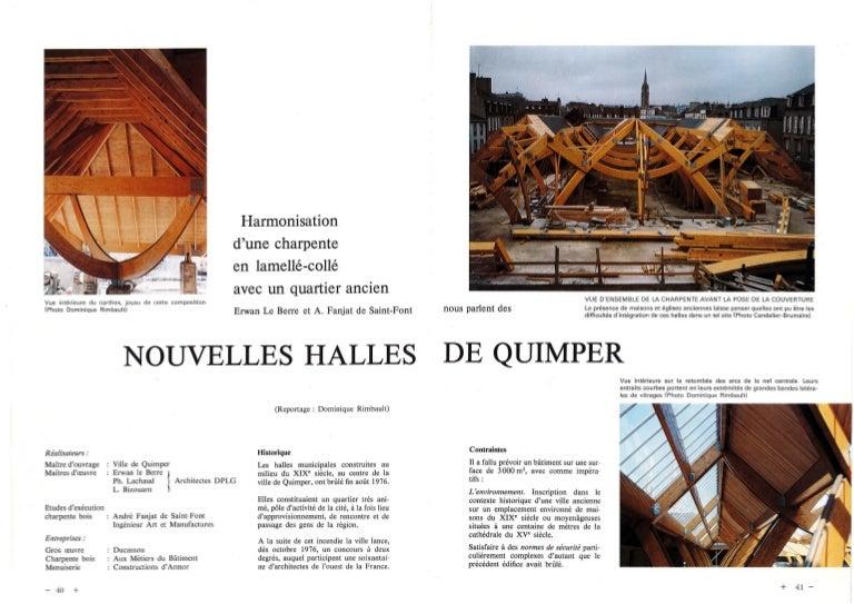 Le Journal De La Charpente