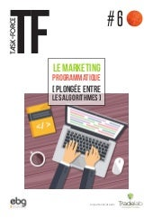 Le marketing programmatique  - Plongée entre les algorithmes - ebg - trade lab - 2016