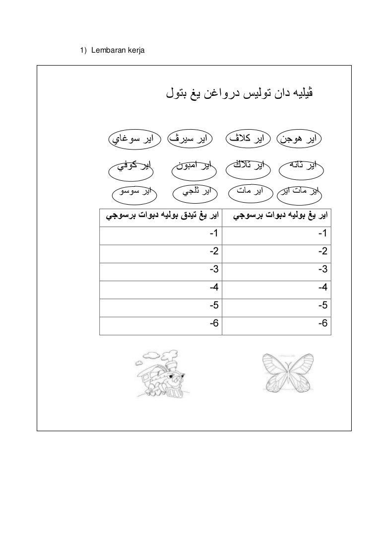 Lembaran Kerja Pendidikan Islam Bersuci