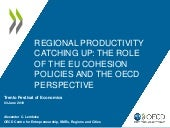 Regional productivity catching up: the role of EU cohesion policy and the OECD perspective -  Alexander LEMBCKE