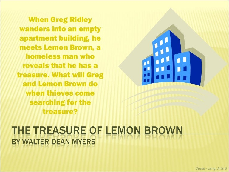 """""""The Treasure of Lemon Brown"""" and Elements of a Short Story"""