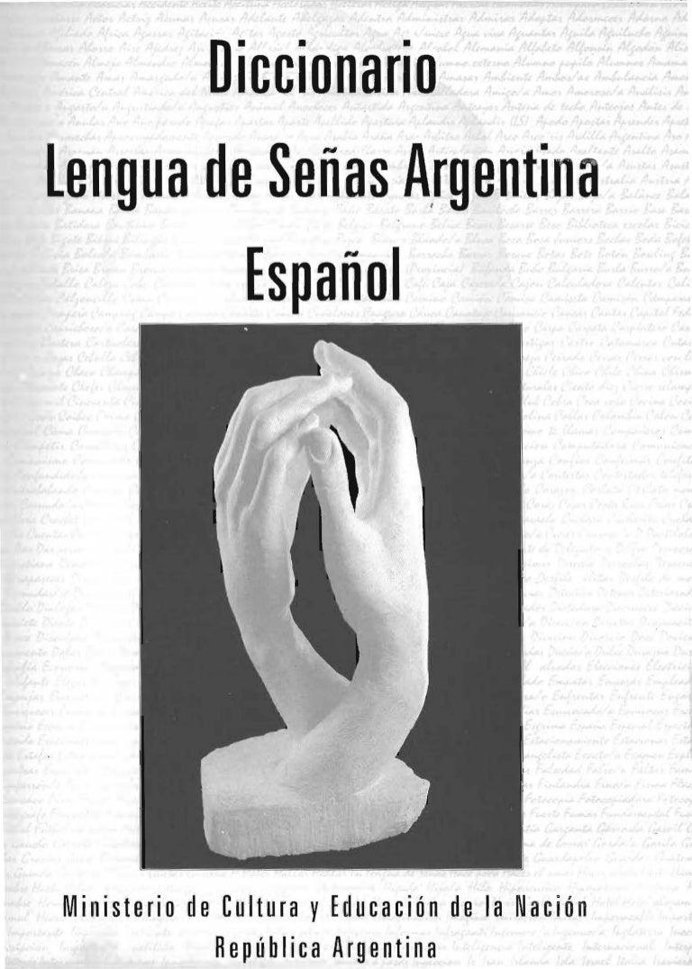 Diccionario.Lengua de Señas.Argentina. b0be666517f