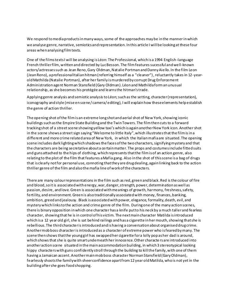 Pulp fiction essay