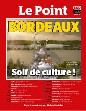 « Bordeaux, soif de culture ! » : Le Point Novembre 2017