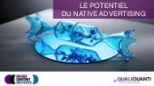 Le potentiel du native advertising