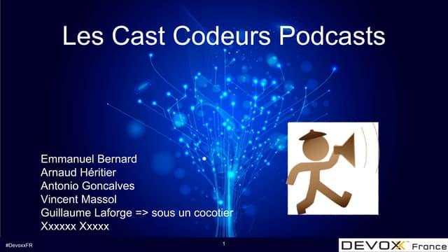 Les Cast Codeurs Devoxx France 2017