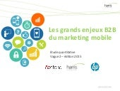 Les grands enjeux b2 b du marketing mobile - 2 juillet