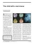 Lesiones del cuello en la infancia
