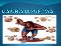 LESIONES DEPORTIVAS (ESGUINCE DE TOBILLO) DR. OSCAR DAVID MEZA OLGUIN