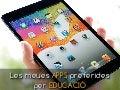 Les meues apps preferides per educació (iOS)