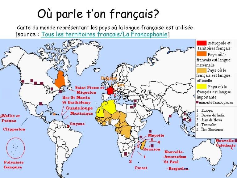 Les pays francophones 2 for Le journal du pays d auge