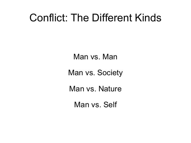 Basic Types of Conflict