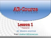 Arabic Alphabet : Lesson One