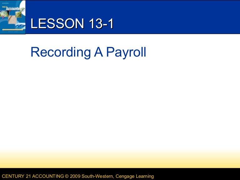 Lesson 13 1