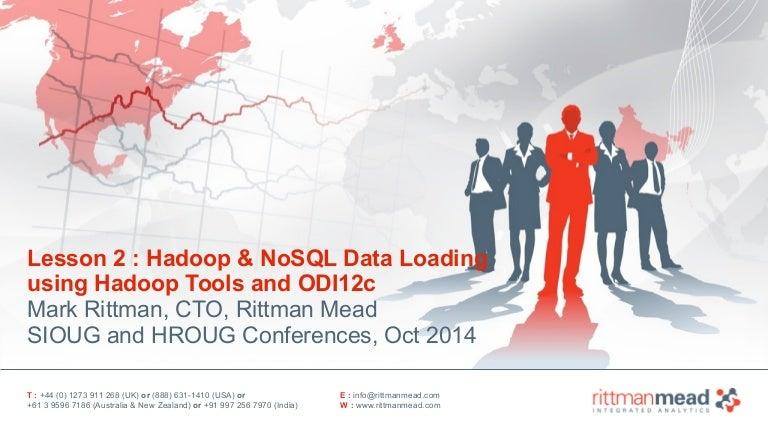 Part 2 - Hadoop Data Loading using Hadoop Tools and ODI12c