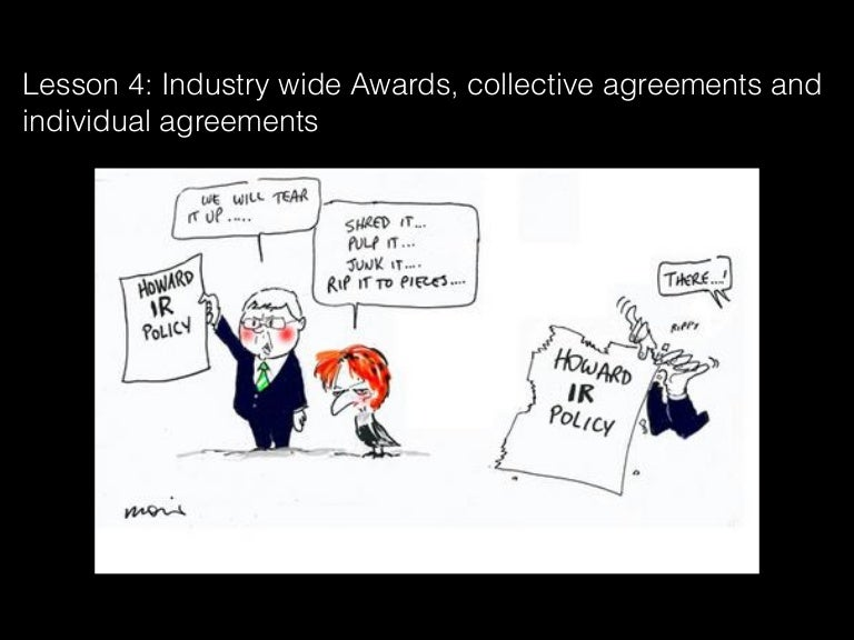 Lesson 4 Industry Wide Awards Collective Agreements And Individual