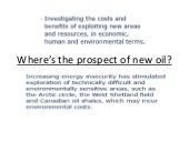 Lesson8 where's the prospect of new oil