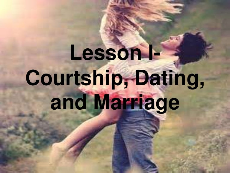 Define courtship dating